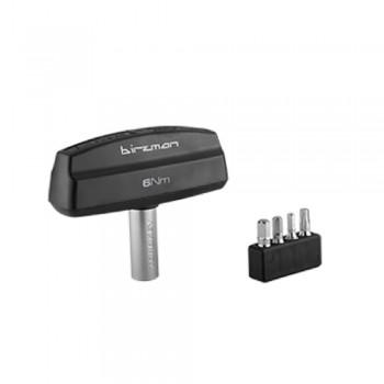 Динамометрический ключ 6Нм Birzman со сменными насадками