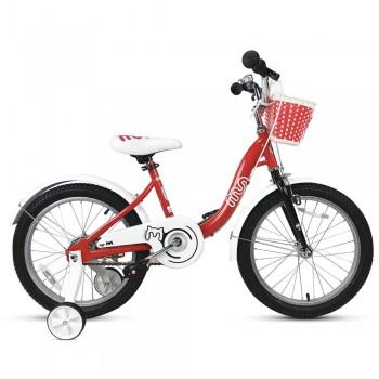 """Велосипед детский RoyalBaby Chipmunk MM Girls 16"""", OFFICIAL UA, красный"""