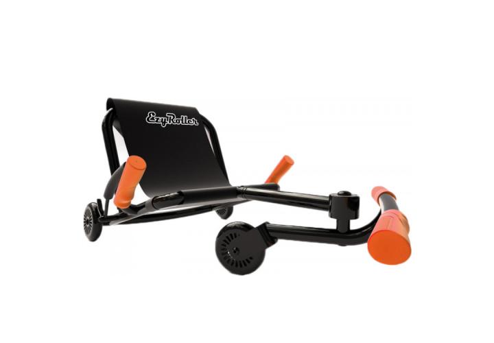 Самокат-каталка Ezyroller Classik, черно-оранжевый