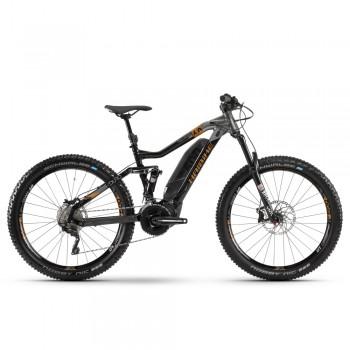 "Электровелосипед Haibike SDURO FullSeven LT 6.0 500Wh 20 s. XT 27.5"", рама M, чёрно-серо-бронзовый, 2020"