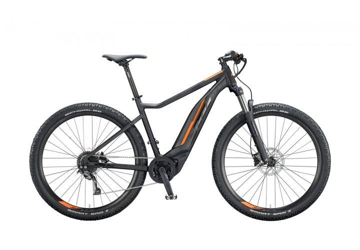 """Электровелосипед KTM MACINA ACTION 291 29"""", рама L, черно-оранжевый, 2020"""
