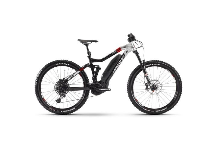 "Электровелосипед Haibike XDURO AllMtn 2.0 500Wh 12 s. NX Eagle 27.5"", рама L, черно-серо-красный, 2020, тестовый"