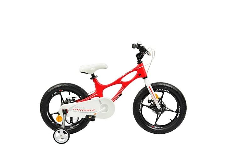 """Велосипед RoyalBaby SPACE SHUTTLE 16"""", OFFICIAL UA, красный"""