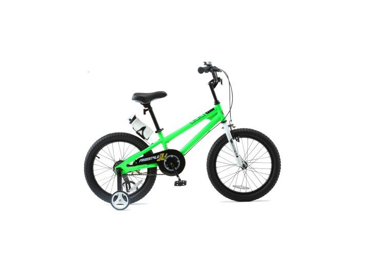"""Велосипед RoyalBaby FREESTYLE 18"""", OFFICIAL UA, зеленый"""