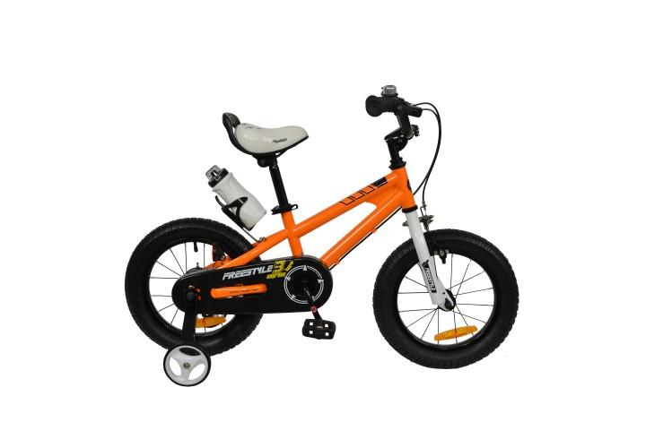 """Велосипед RoyalBaby FREESTYLE 18"""", OFFICIAL UA, оранжевый"""
