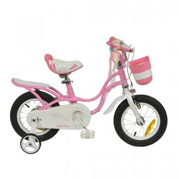 "Велосипед RoyalBaby LITTLE SWAN 18"", OFFICIAL UA, розовый"