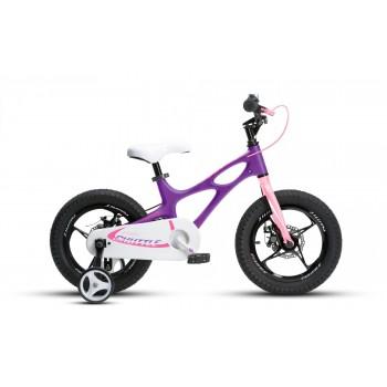 """Велосипед RoyalBaby SPACE SHUTTLE 14"""", OFFICIAL UA, фиолетовый"""