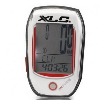 Велокомпьютер XLC BV-W03, 25 функций, белый