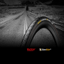 "Покрышка Continental Grand Prix 4 Season 28"" | 700 x 23C черная, складная, skin BlackEdition"