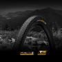 "Покрышка бескамерная Continental Terra Speed ProTection 28"" | 700 x 35C | 28 x 1.35 черная/кремовая , складная skin"