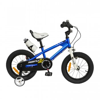 "Велосипед RoyalBaby FREESTYLE 16"", OFFICIAL UA, синий"