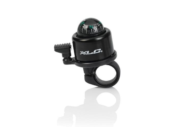 Звонок велосипедный с компасомXLC DD-M23, черный