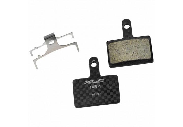 Тормозные колодки дисковые XLC BP-C25, Shimano BR-M985,M785,M675,M666,M615