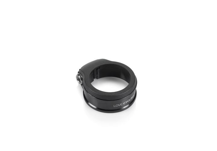 Хомут XLC PC-A02, Ø34,9мм, черный