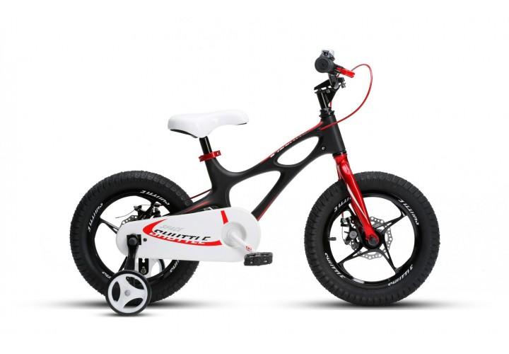 """Велосипед RoyalBaby SPACE SHUTTLE 14"""", OFFICIAL UA, черный"""