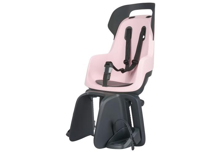 Детское велокресло Bobike Maxi GO Carrier / Cotton candy pink