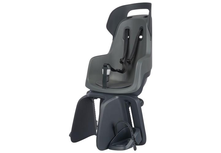 Детское велокресло Bobike Maxi GO Carrier / Macaron grey
