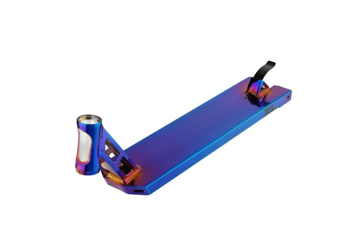 Дека для трюкового самоката Hipe XL, neo/blue