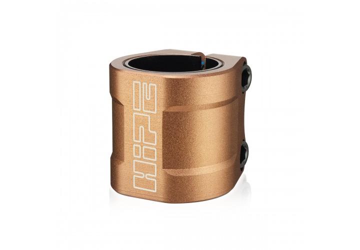 Хомут на руль для трюкового самоката Hipe LMT70 (IHC/HIC), bronze