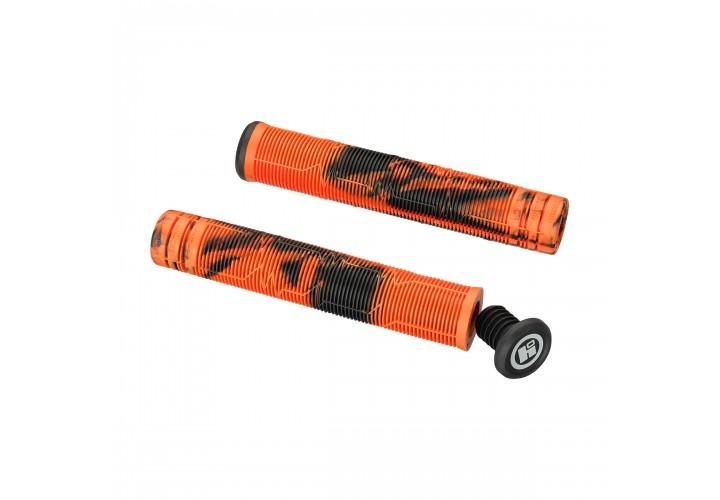 Грипсы для трюкового самоката Hipe LMT03, 170мм, black/orange