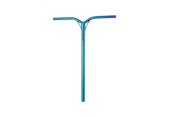 Руль для трюкового самоката Hipe LMT70 T-Bar Standart (IHC/SCS), 770x600мм, neo/blue
