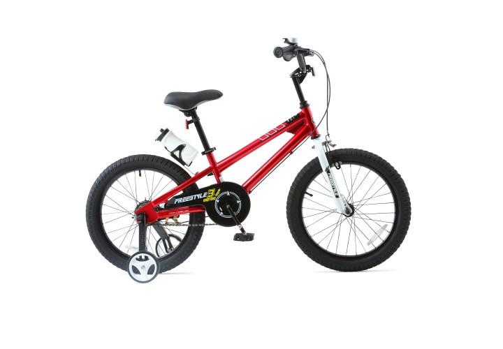 """Велосипед RoyalBaby FREESTYLE 18"""", OFFICIAL UA, красный"""