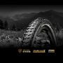 """Покрышка бескамерная Continental Mountain King, 27.5""""x2.30, 58-584, черная, складная, PureGrip, ShieldWall System, 795гр."""