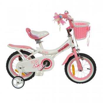 "Велосипед RoyalBaby JENNY GIRLS 16"", OFFICIAL UA, белый"