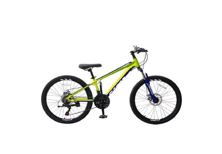 "Велосипед RoyalBaby MTB 1.0 24"", OFFICIAL UA, лайм"