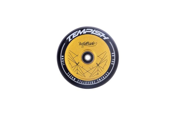 Колесо для самоката Tempish PU 88A 110x24 FULL AL CORE black/gold