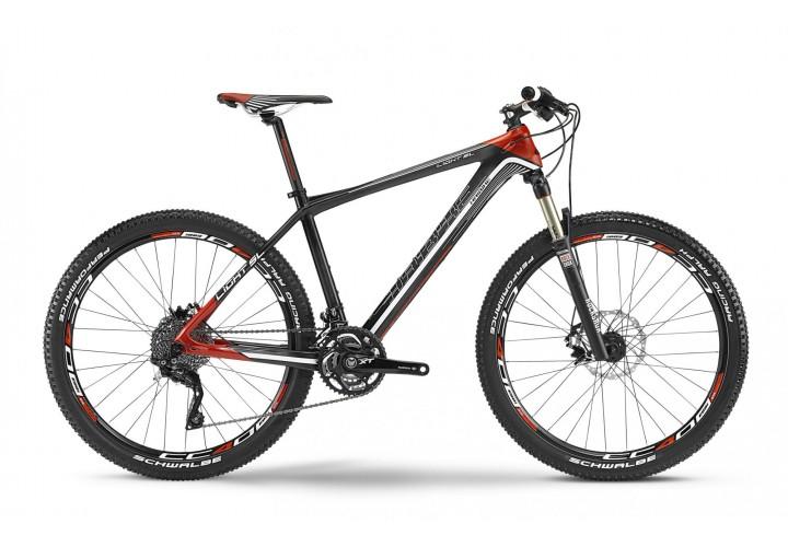 """Велосипед Haibike Light SL 26"""", рама 49см, Carbon, черный-серо-красный, 2016"""