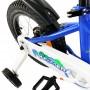 """Велосипед детский RoyalBaby Chipmunk MK 16"""", OFFICIAL UA, синий"""