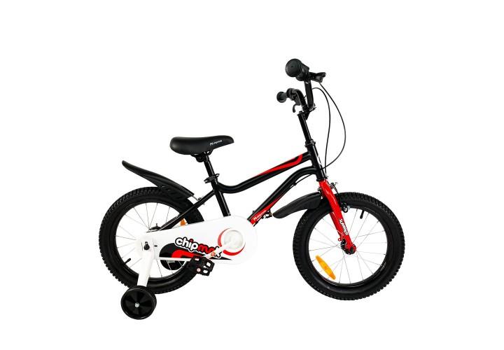 """Велосипед детский RoyalBaby Chipmunk MK 16"""", OFFICIAL UA, черный"""