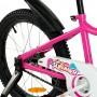 """Велосипед детский RoyalBaby Chipmunk MK 18"""", OFFICIAL UA, розовый"""