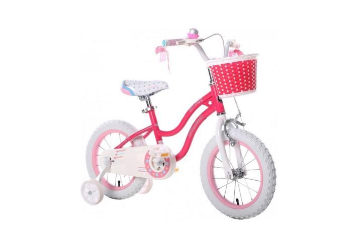 """Велосипед RoyalBaby STAR GIRL 16"""", OFFICIAL UA, розовый"""