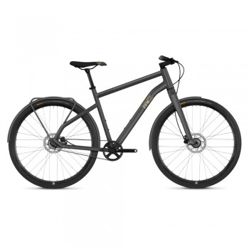 "Велосипед Ghost Square Urban 3.8 28"" рама M, серо-коричнево-черный, 2019"