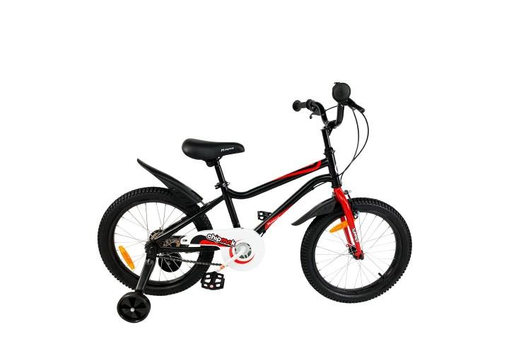"""Велосипед детский RoyalBaby Chipmunk MK 18"""", OFFICIAL UA, черный"""