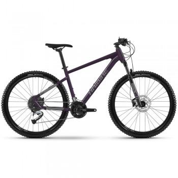"Велосипед Haibike Seet 7 27.5"" 24-G Acera, рама M, черно-титановый, 2021"
