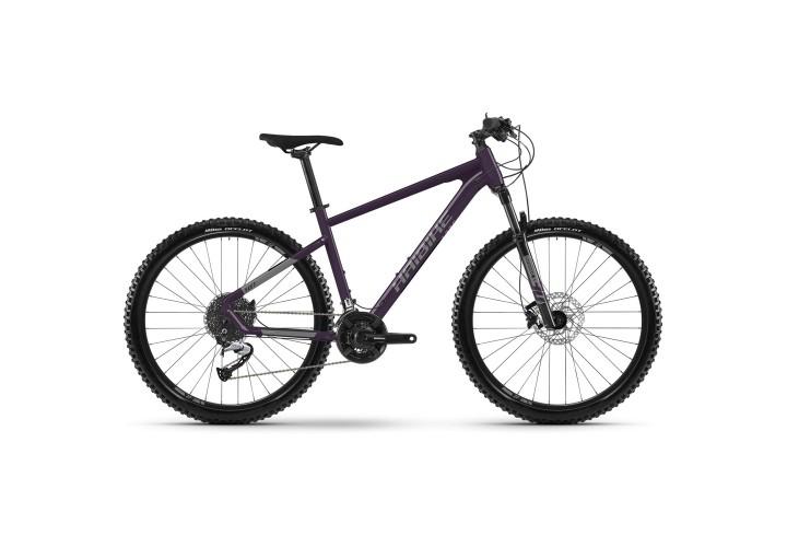 "Велосипед Haibike Seet 7 27.5"" 24-G Acera, рама S, черно-титановый, 2021"