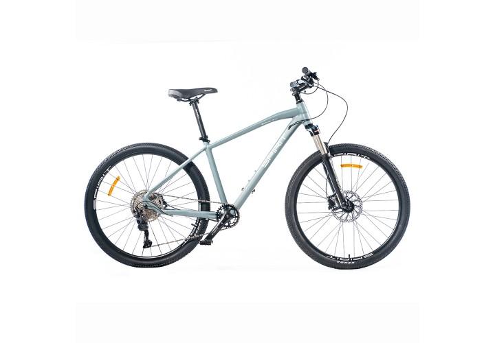 "Велосипед Spirit Echo 7.4 27,5"", рама M, серый, 2021"