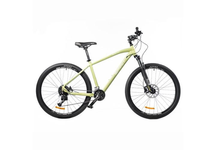 """Велосипед Spirit Echo 7.3 27,5"""", рама S, оливковый, 2021"""