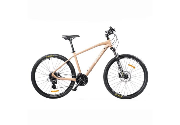 """Велосипед Spirit Echo 7.2 27,5"""", рама M, латте, 2021"""