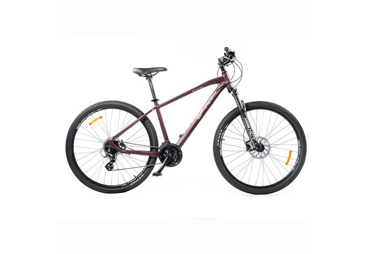 "Велосипед Spirit Echo 9.2 29"", рама M, бордово-коричневый, 2021"