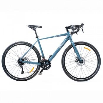 "Велосипед Spirit Piligrim 8.1 28"", рама M, синий графит, 2021"