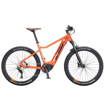 """Электровелосипед KTM MACINA RACE 271 27"""" рама L/48, оранжевый (черно-оранжевый), 2021"""