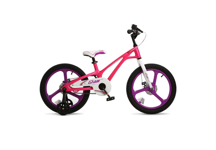 """Велосипед RoyalBaby GALAXY FLEET PLUS MG 18"""", OFFICIAL UA, розовый"""