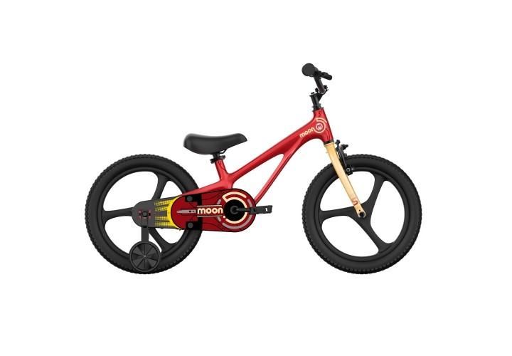 """Велосипед RoyalBaby Chipmunk MOON ECONOMIC MG 18"""", OFFICIAL UA, красный"""