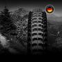"Покрышка бескамерная Continental Der Kaiser Projekt, 26""x2.40, 60-559, черная, складная, BlackChili, ProTection Apex, Skin, 900гр.,"